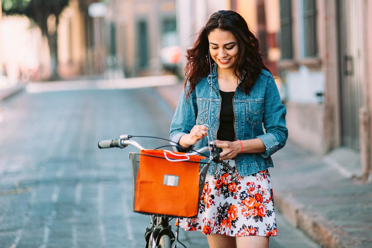 biciklis-csaj