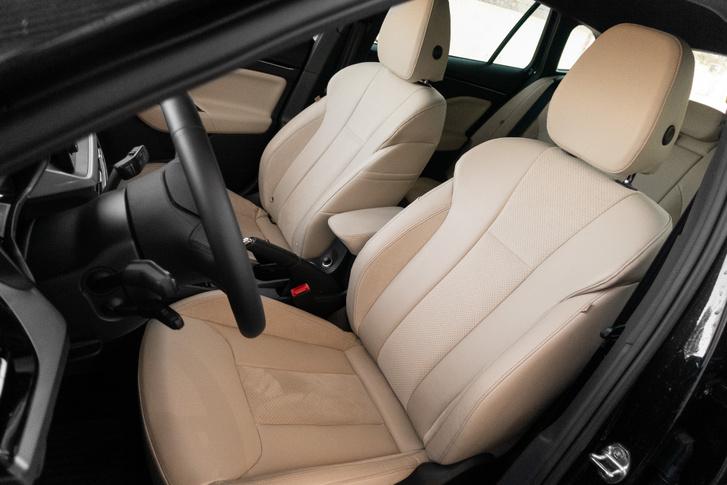 Nem egy Volvo, de határozottan kényelmes