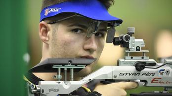 Péni István a világcsúcsnál jobb eredménnyel nyert a svájci lövészversenyen