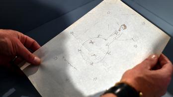 Megtalálták A kis herceghez készült rajzok vázlatait