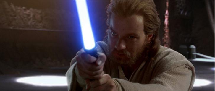McGregor a Csillagok háborúja - A klónok támadása című filmben.