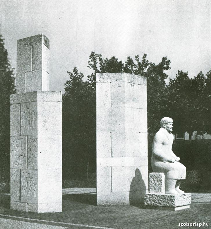 A híres hódmezővásárhelyi Lenin-szobor eredetije