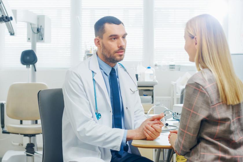 nőgyógyászati konzultáció