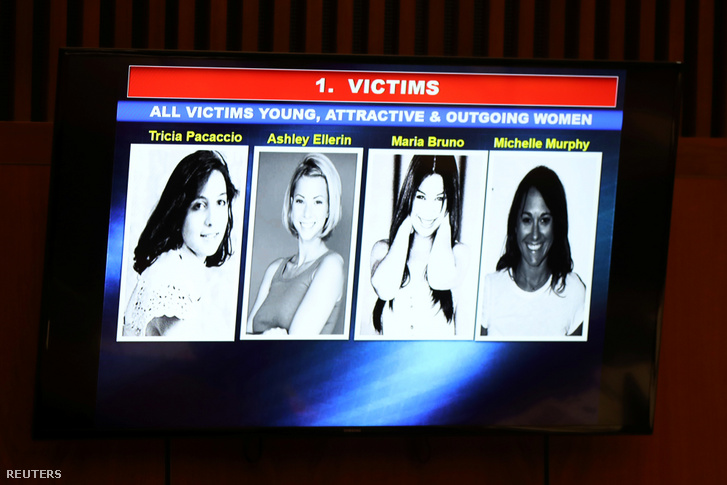 Az áldozatok képe a bíróságon 2019. augusztus 6-án.