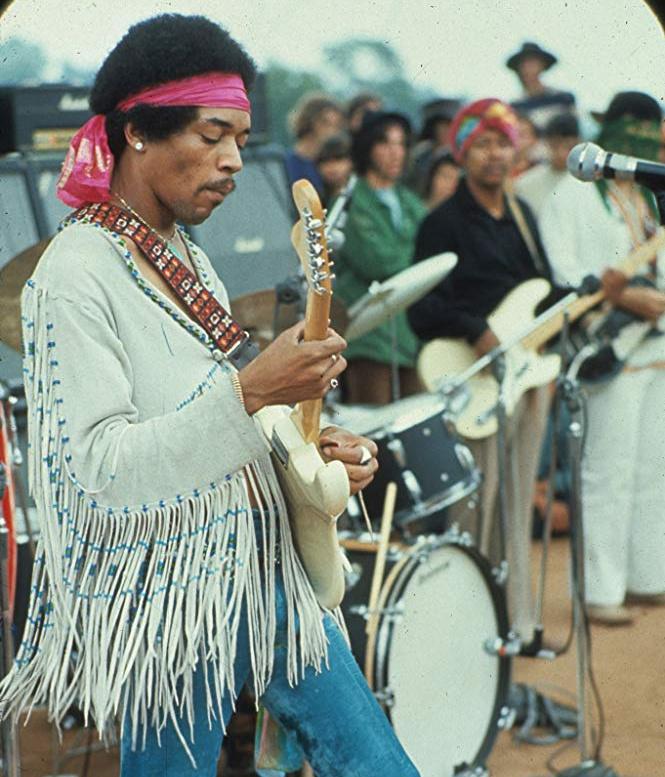 Jimi Hendrix fellépése a Woodstock fesztiválon