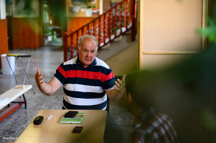 Hajdú András, a Fekete István Általános Iskola igazgatója