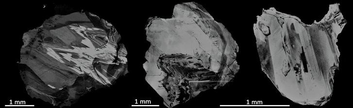 A Brazíliában (Juina-térségben) gyűjtött mélységi gyémántok közül három