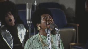 Aretha Franklint nemcsak hallani, látni is kell
