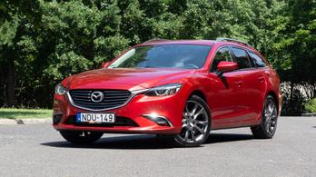 Használtteszt: Mazda 6 CD150 Revolution - 2015.
