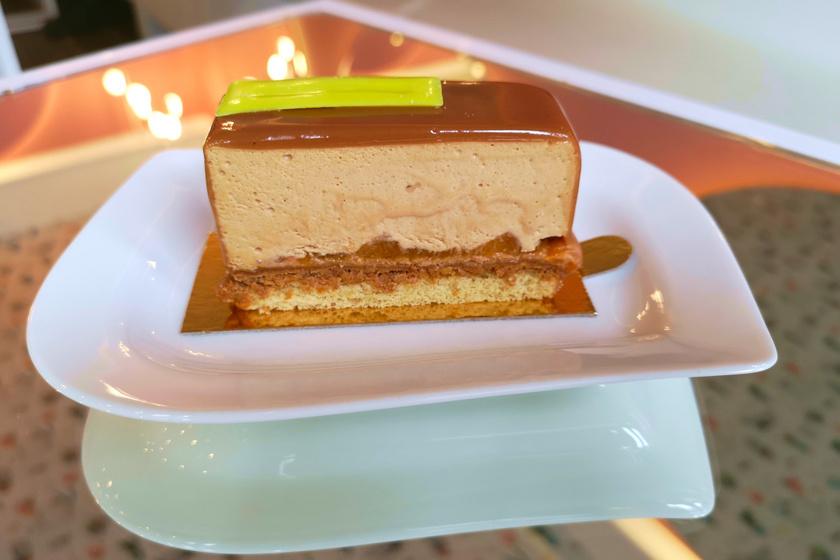 karamellas szelet malna pastry