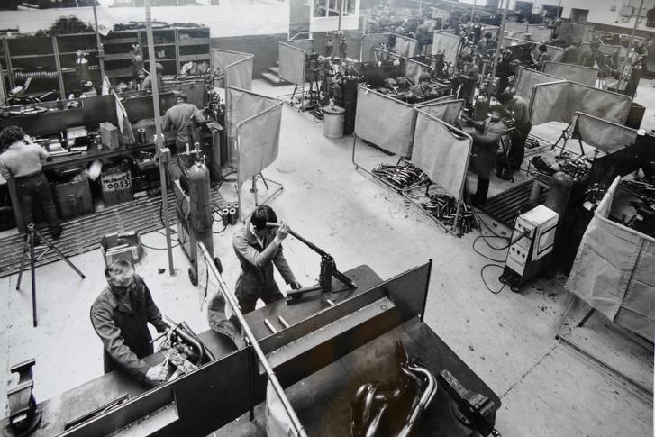 A Janspeed a korai években, már a második műhelyben