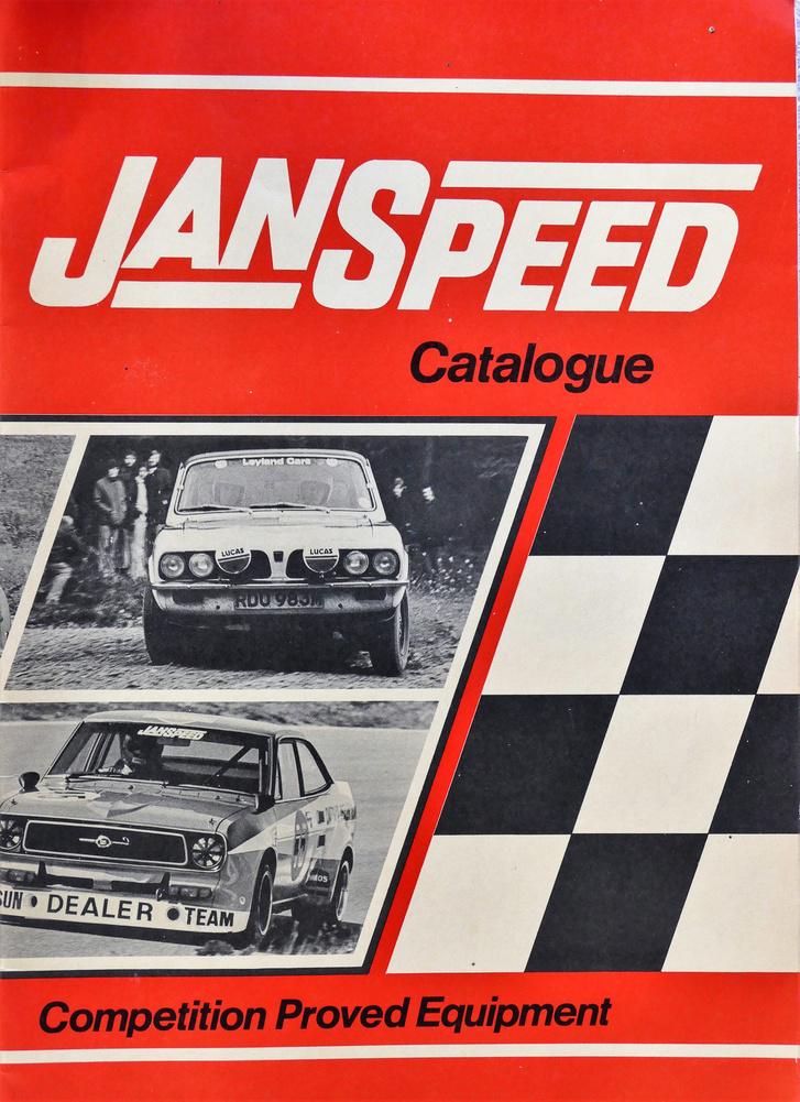 Már a Janspeed-katalógusban a Datsun Sunny (lent). A fölső képen egy Triumph Toledo