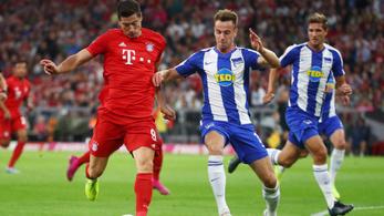 A Bayern értékes pontokat vesztett a nyitómeccsen