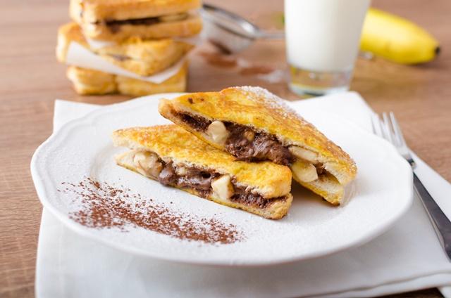 banános-nutellás bundás kenyér