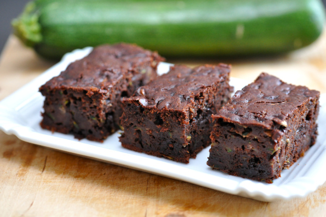 cukkinis brownie recept