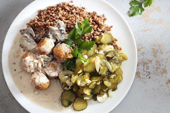 gombás-húsgombóc-recept