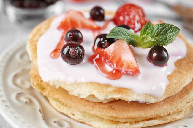 joghurtos pancake recept