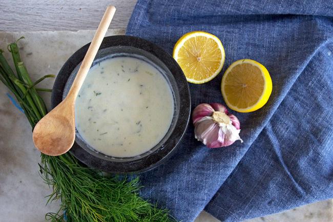 kaprosjoghurtosöntetrecept