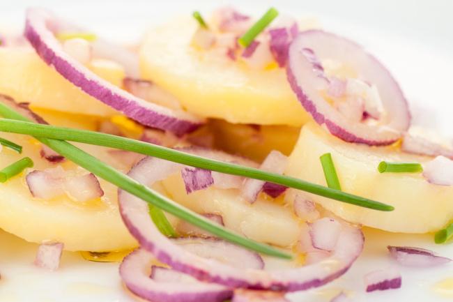 krumplisaláta recept