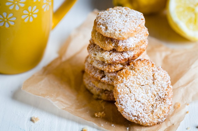 paleo citromos keksz