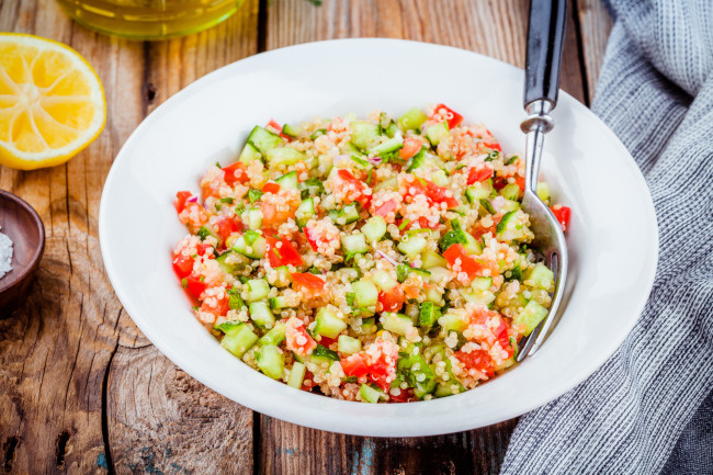 quinoa saláta recept