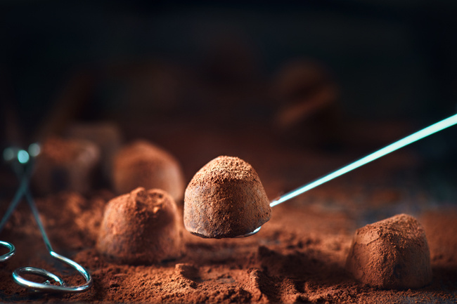 trüffel csoki 650