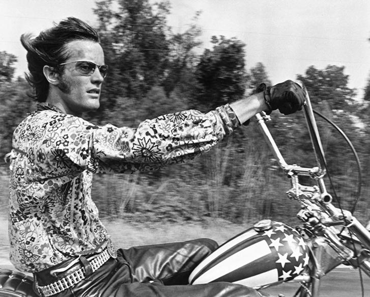 Peter Fonda a Szelíd motorosok című filmben