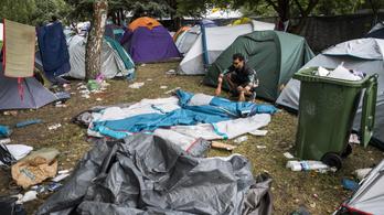 Három teherautónyi sátor és egyéb eszköz maradt a Sziget-lakók után