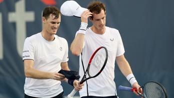 Andy Murrayt a saját testvére ütötte ki