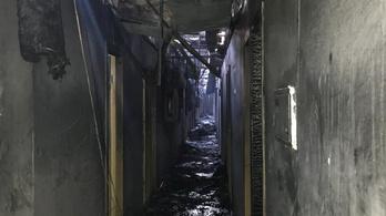 Nyolcan meghaltak egy kigyulladt odesszai szállodában