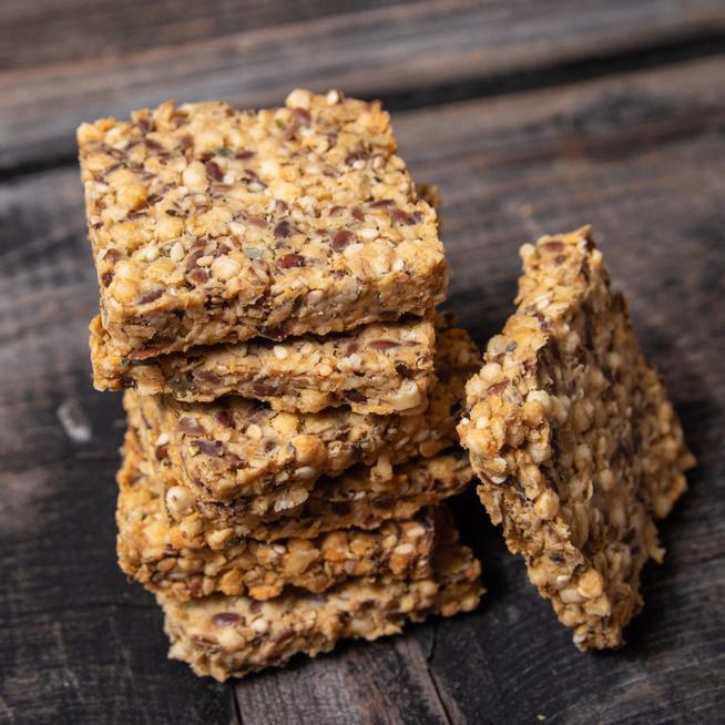 Sokmagvas, ropogós keksz: az emésztésünknek is jót tesz