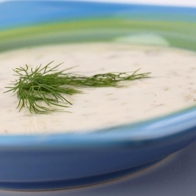 20 perces tejszínes kaporkrémleves: kaporrajongóknak kötelező