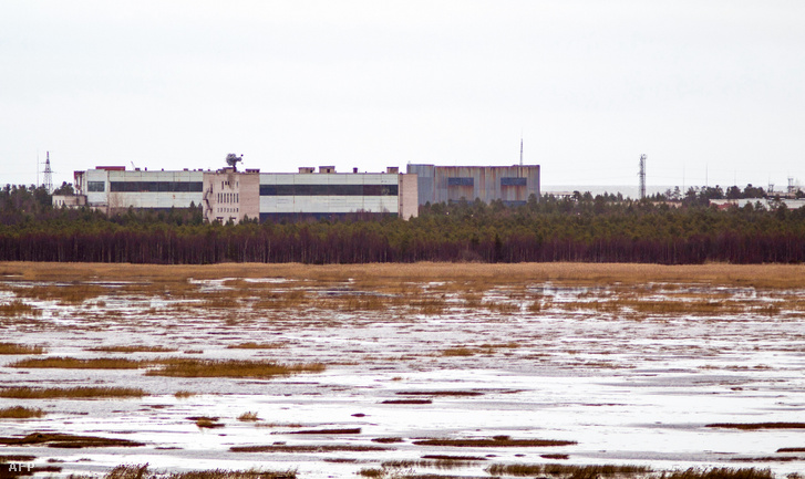 Katonai bázis az oroszországi Arhangelszk megyében