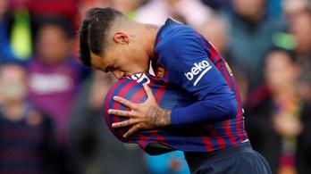 Eldőlt: a Bayernnél kötött ki Coutinho