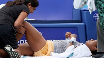 Feladta a negyeddöntőt a világelső teniszezőnő