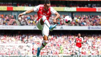 Aubameyang hozta meg a győzelmet az Arsenalnak