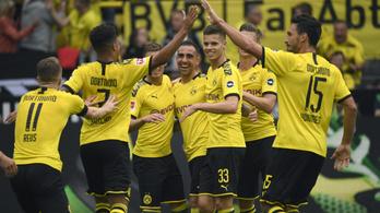 A Dortmund öttel válaszolt a 29. mp-ben kapott gólra