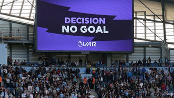 92. perces gólt vettek el videóbíróval a ManCity-Tottenham-derbin