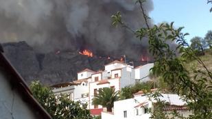 Újból felcsaptak a lángok a Kanári-szigeteken