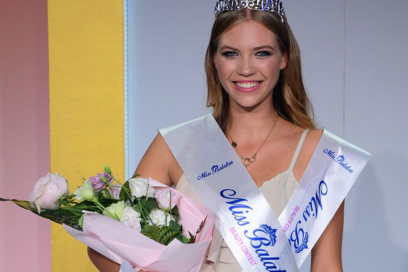 A 2019-es Miss Balaton győztese, Balogh Eleni.