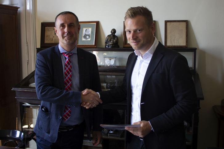 Dr. Szabó Attila és Tiborcz István