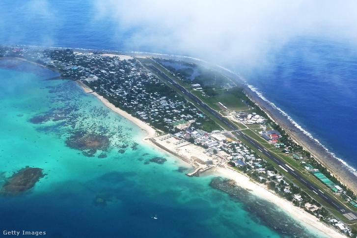Tuvalu szigete