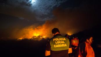 Négyezer embert evakuáltak a tűz elől a Kanári-szigeteken