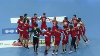 A magyar U19-es kéziválogatott nagyon elverte a franciákat a vb-helyosztón