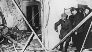 Hitler mellé tették a pokolgépet, mégsem halt bele a robbanásba