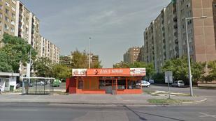 Kigyulladt egy giroszos Budapesten