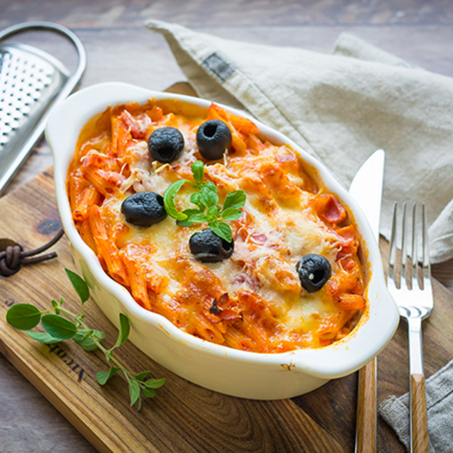 A hétköznapok megmentője: paradicsomos rakott tészta
