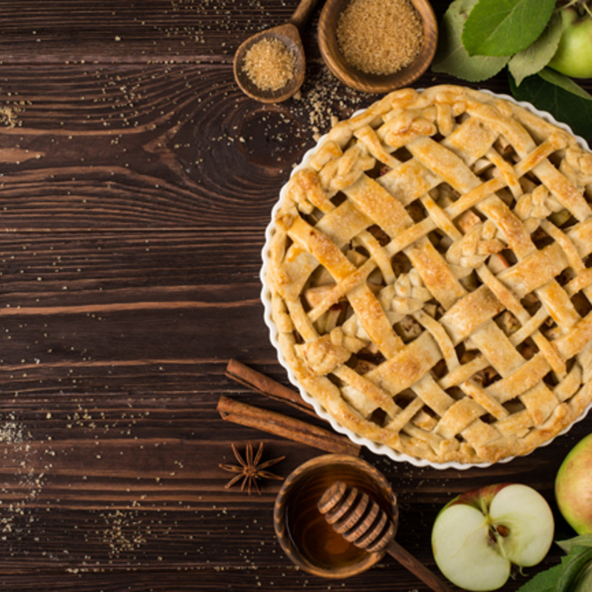 Gyors almás pite, ahogy a nagymama készíti: vaníliafagyival az igazi