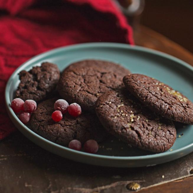 Csupa csoki brownie-keksz: kívül ropog, belül krémes