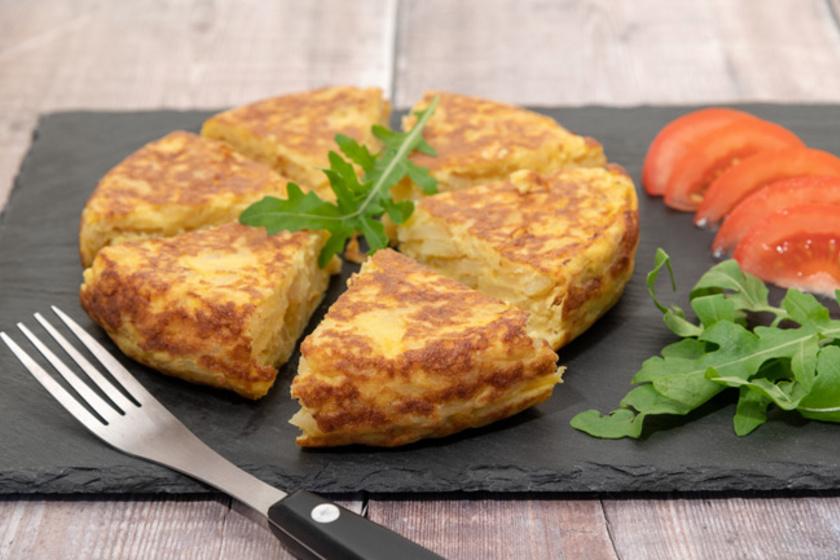A spanyolok omlettje nem mindennapi: így készül a krumplis változat